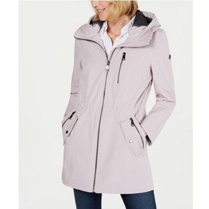 Calvin Klein Hooded Raincoat Jacket